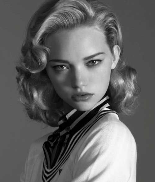 Styles For Long Curly Hair 1950s Hairstyles For Long Hair