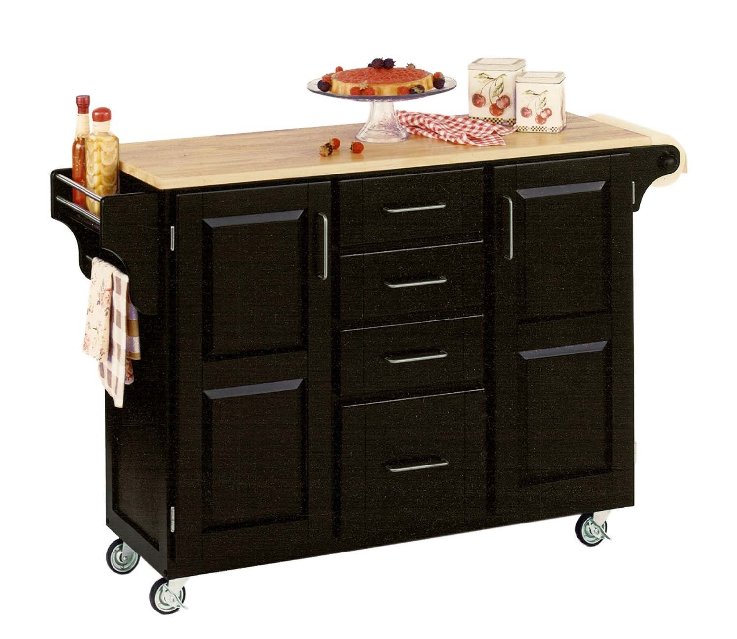 Kitchen Island Black Portable Kitchen Island With Drawers: Pin By Will Royall On For The Home