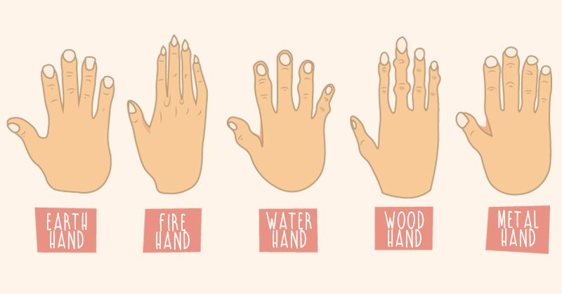 What Do The Shape Of Your Hands Reveal About Your Personality