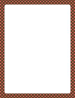 Pink And Brown Polka Dot Border Paintable Wallpaper Daltile Ceramic Wall Tiles