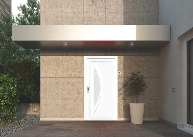 Les portes du0027entrée Oknoplast vous protègent des effractions et du
