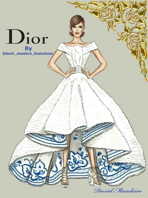 Photo of 32+ Ideas Fashion Sketches Dior Drawings