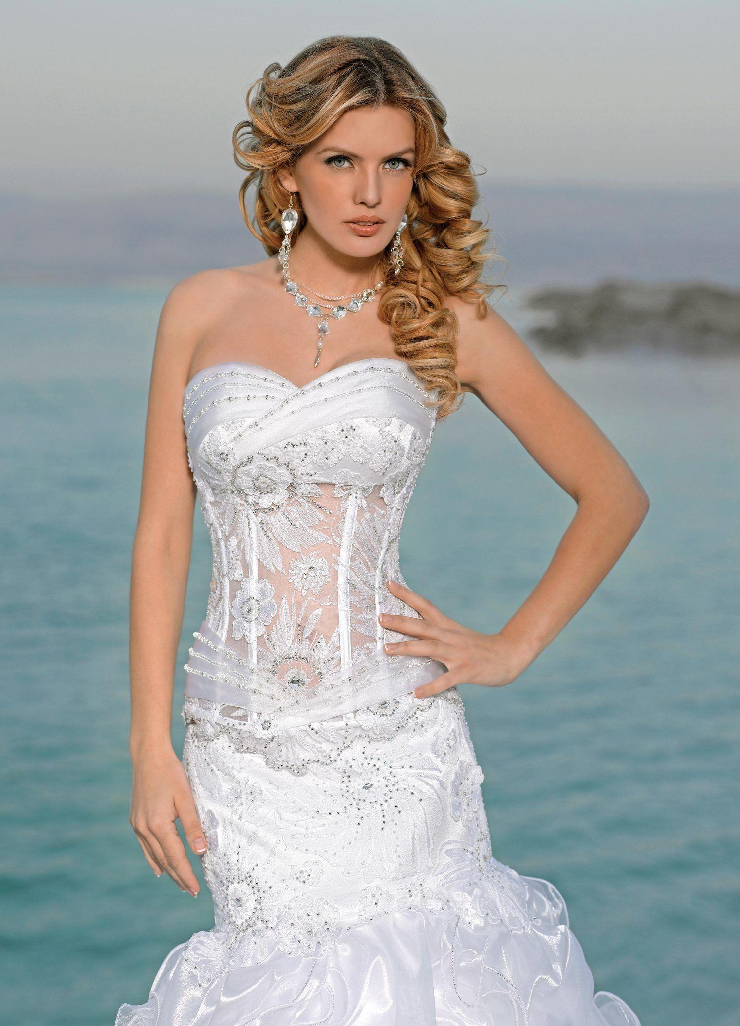 BRIDAL DRESS BY MY LADY LADY SABRA - LADY SABRA SKIRT - LADY OLYMPIA ...