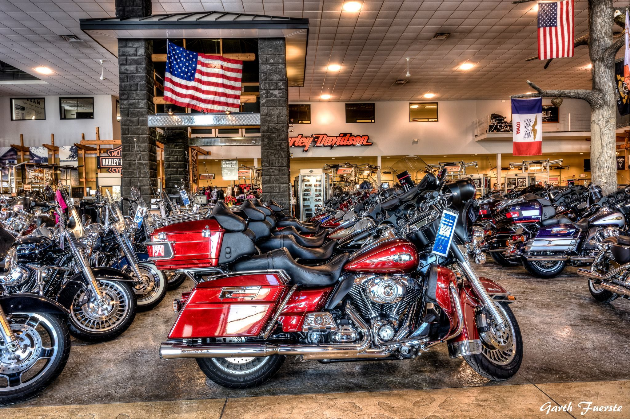 Harley davidson dubuque iowa if your interested in prints
