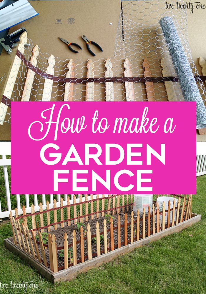 DIY Garden Fencing is part of Diy garden fence, Fenced vegetable garden, Garden fencing, Garden fence, Diy garden, Garden projects - DIY garden fencing tutorial  Make your own vegetable garden fencing with only a few supplies