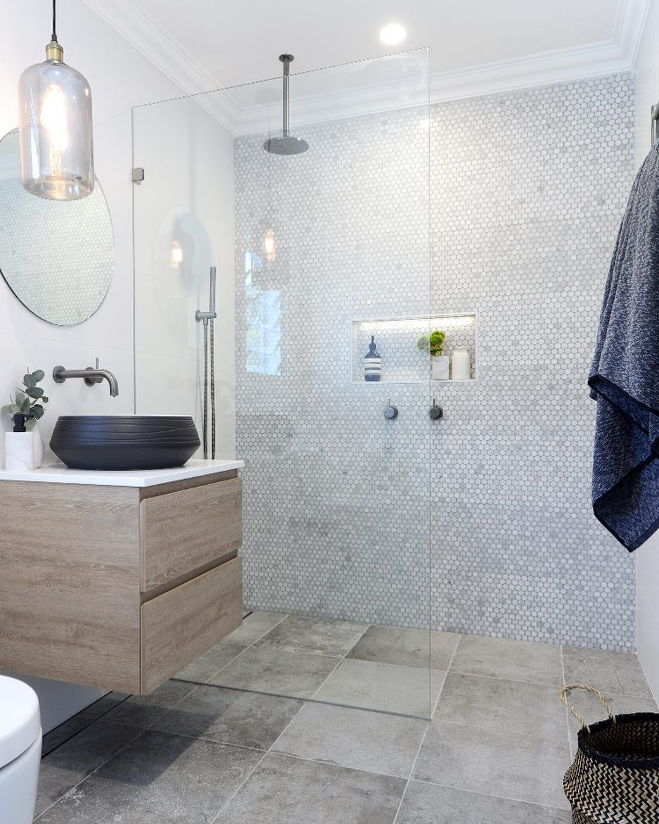 - 12 Sleek Ways To Use Penny Tile All Over Your House Penny Round