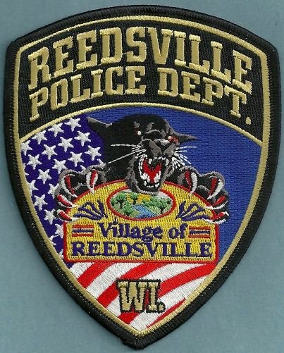 Reedsville Pd Wi Police Patches Police Badge Police