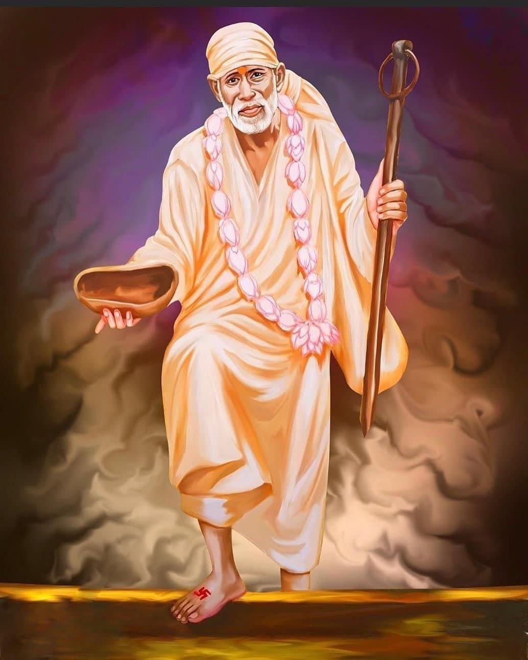 50 Sai Baba Images In Hd Vedic Sources Shirdi Sai Baba Wallpapers Baba Image Sai Baba Wallpapers