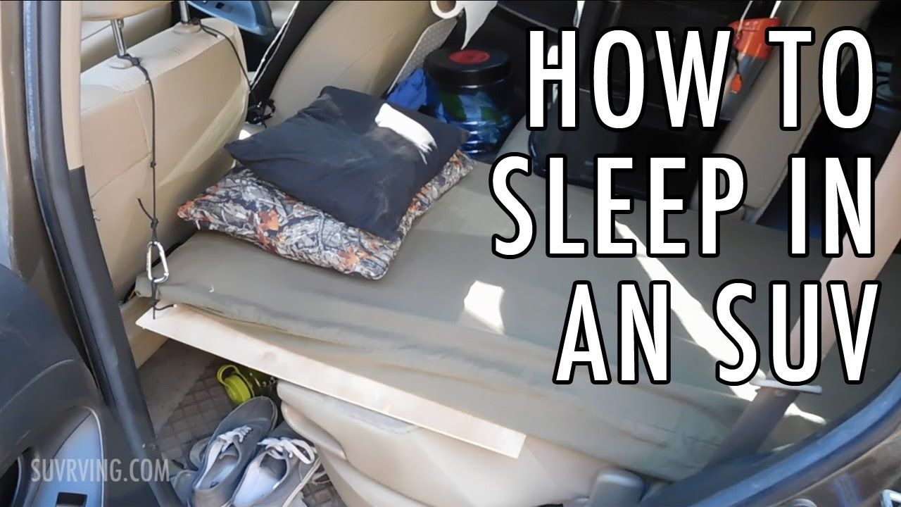 How to Sleep in an SUV (Sleeping or Car Camping in an SUV