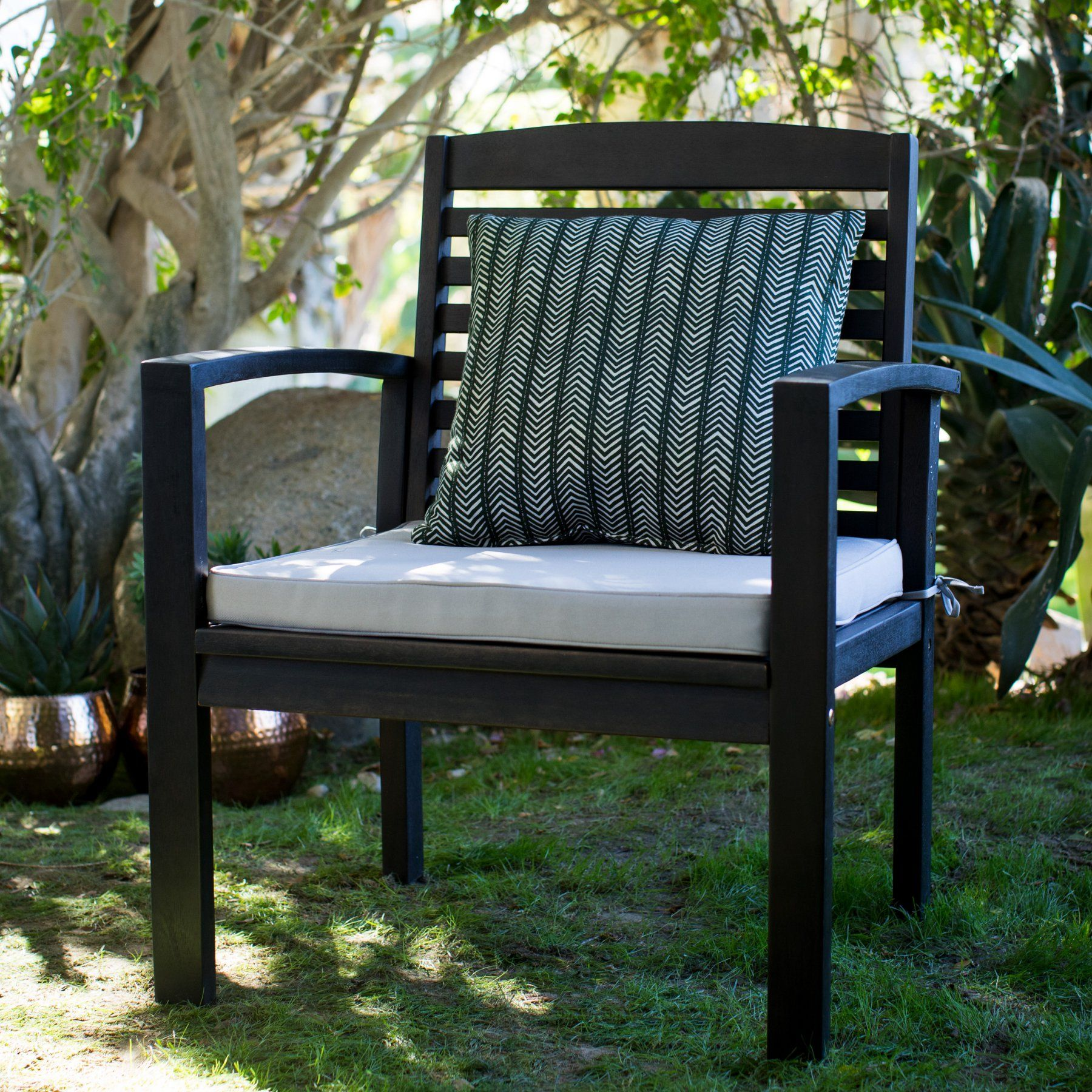 Prime Coral Coast Milany Outdoor Wood Deep Seating Lounge Chair Pdpeps Interior Chair Design Pdpepsorg