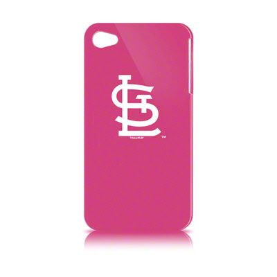St. Louis Cardinals Pink iPhone 4 Hard Case - I need this!