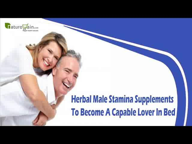 Herbal Male Stamina Supplements To Become A Capable Lover