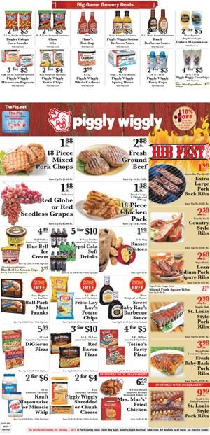 piggly wiggly meat deals