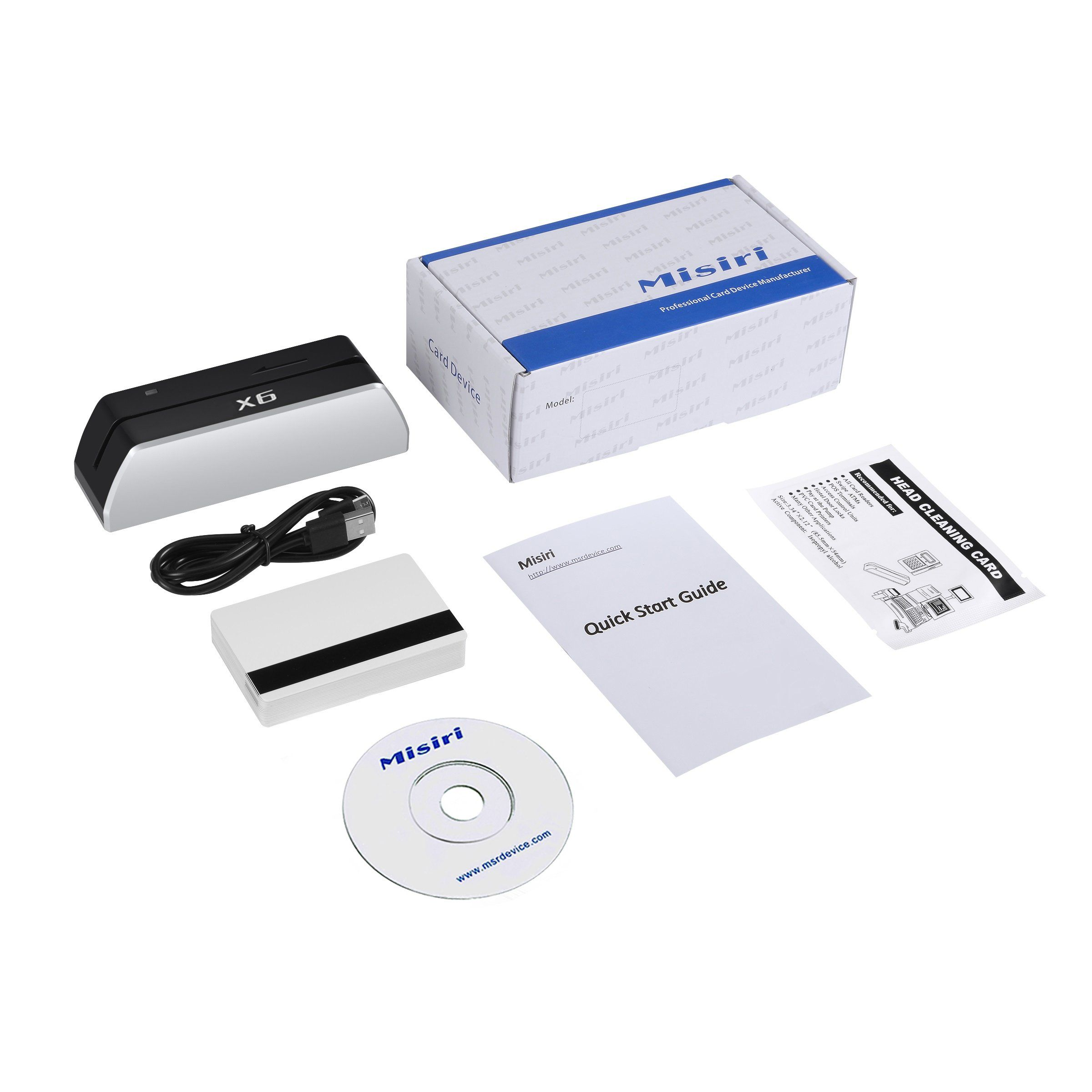 Misiri X6 Smallest Usb Magnetic Credit Card Reader Writer 1 4 Size Of 705 Credit Card Reader Writer Credit Card Readers Card Reader