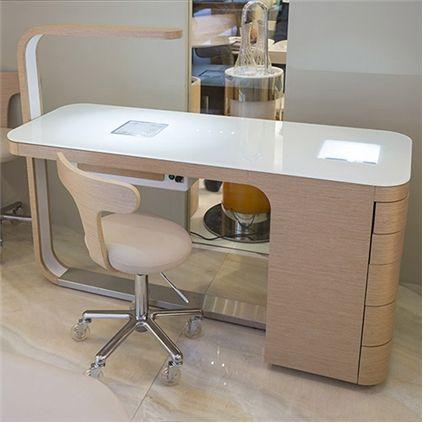 mesa de trabalho manicure pesquisa do google recep es pinterest les salons de manucure. Black Bedroom Furniture Sets. Home Design Ideas