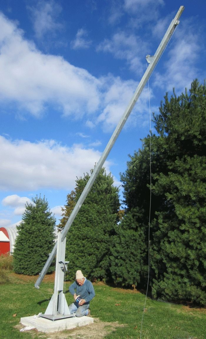 Build A 25 50 Free Standing Tilt Then Crank Up Tower