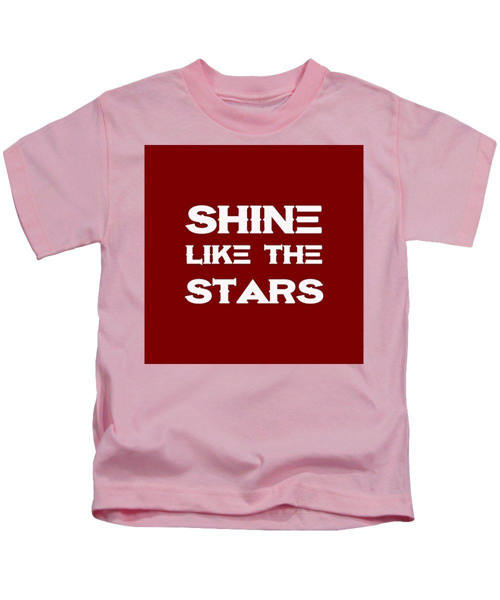 Shine Like The Stars Motivational And Inspirational Quote Kids T
