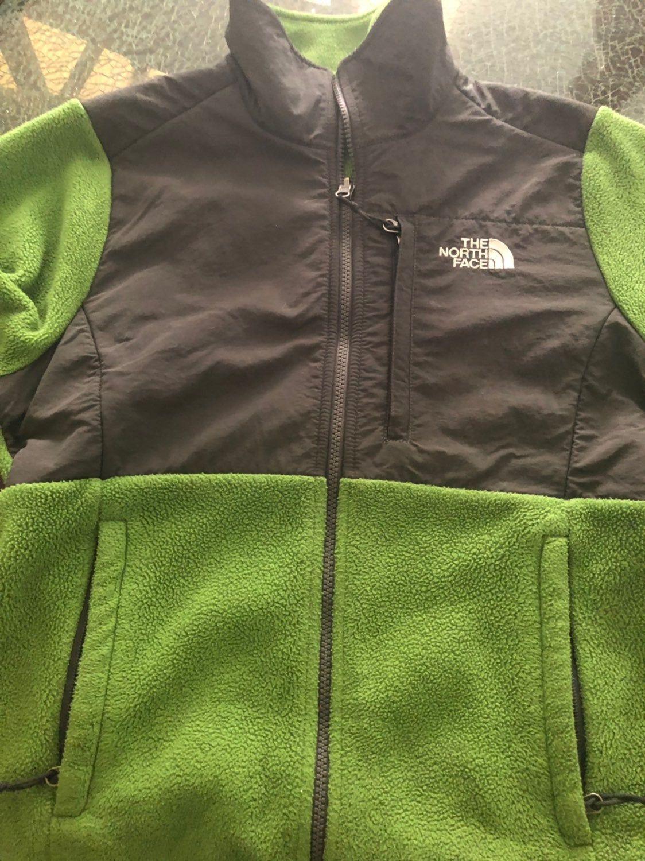Women S Small North Face Denali Fleece Jacket Lime Green And Gray The North Face North Face Fleece Jacket North Face Fleece [ 1500 x 1124 Pixel ]