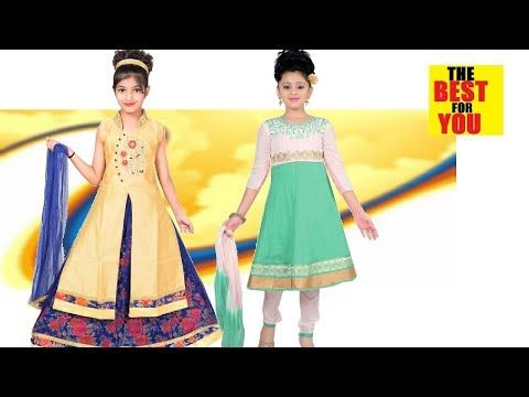 80d1c0575aee1 India Kid Girls Fashion Dress Designs in flipkart and amazon shopping  online dresses - YouTube