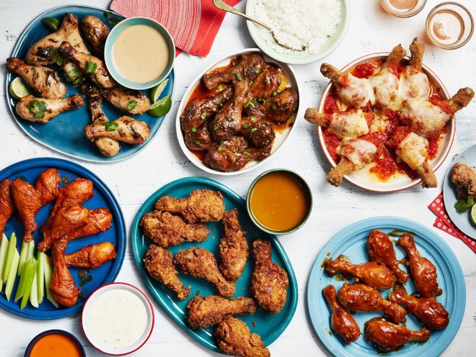 6 Ways To Reinvent Chicken Drumsticks Food Network Oven Baked