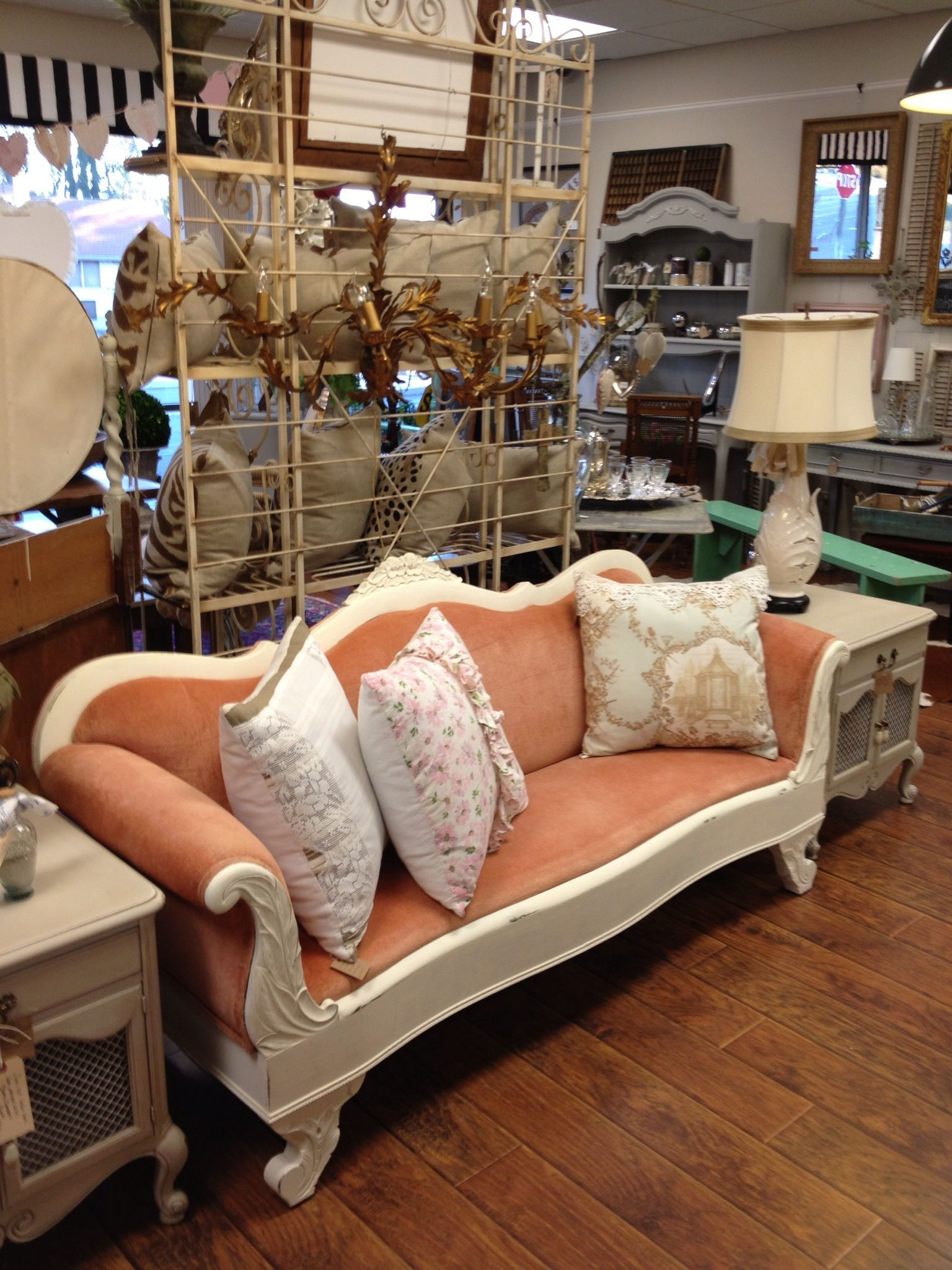 A painted Victorian sofa sofa Pinterest