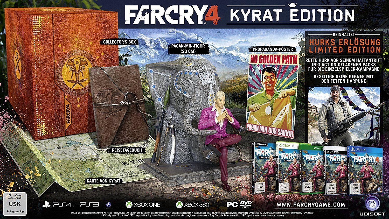 Far Cry 4 Limited Edition Playstation 4 Amazon De Games
