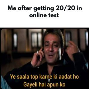 After Getting Full Marks In Online Tests