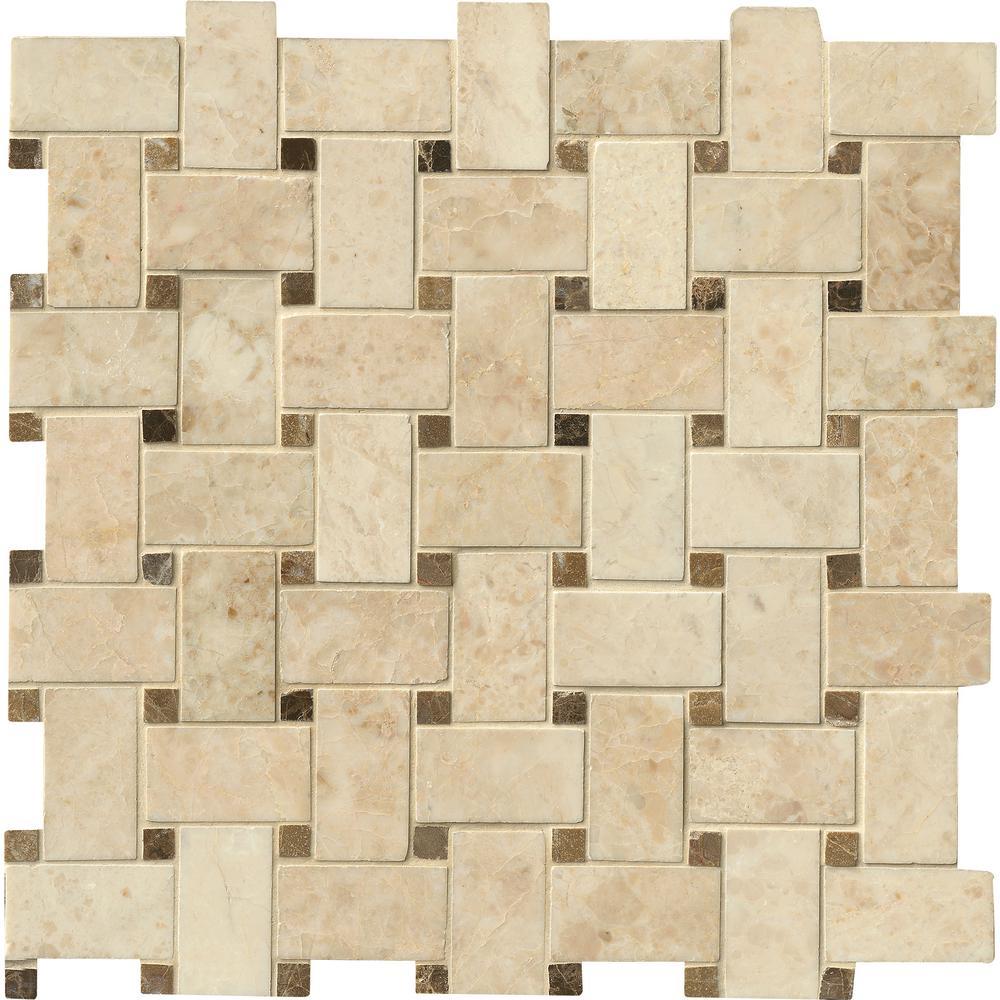 - Basketweave Tile Backsplash Design - Google Search In 2020 Tiles