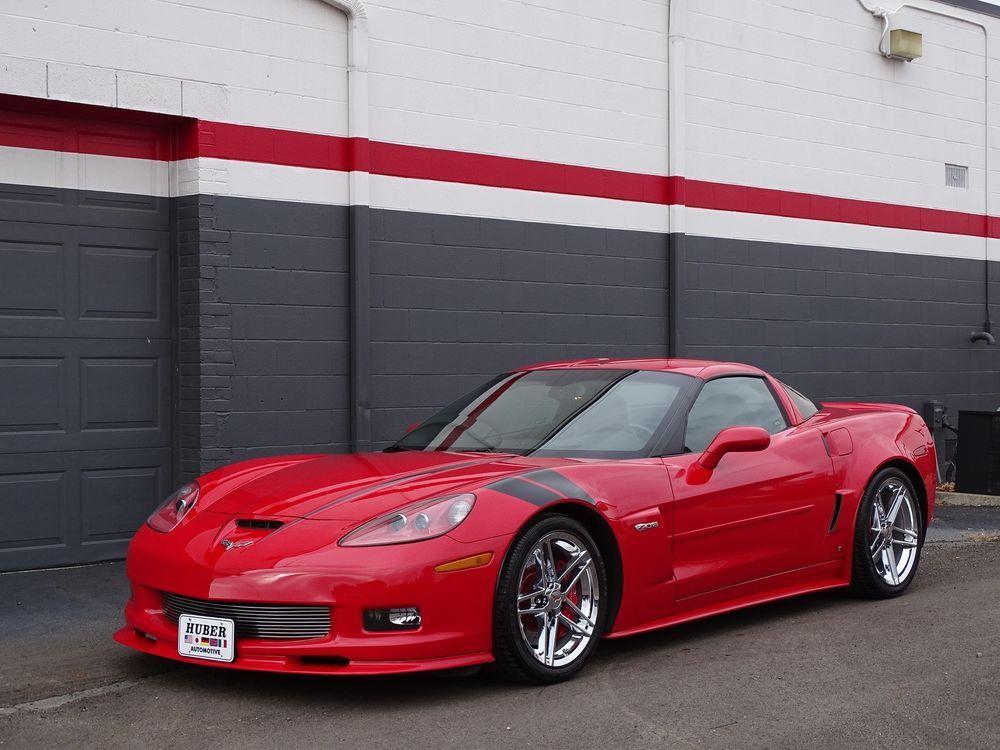 2008 Corvette Chevrolet Corvette 14k Miles Victory Red