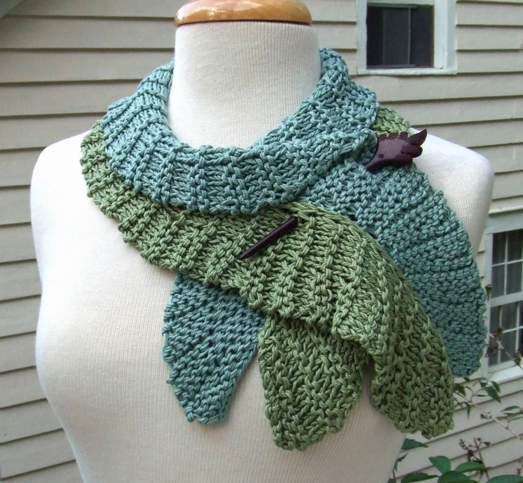 Crochet Scarf Pattern Leaf : Twirling Leaf Scarf Patterns, Search and Crochet