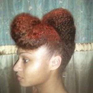 Casandra // Natural Hair Style Icon #naturalhairupdo