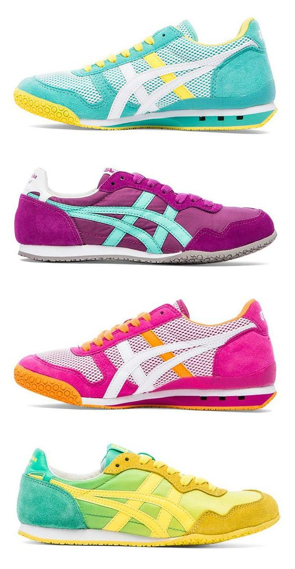 92c6c037e664 Beautiful Bright Sneakers by Onitsuka Tiger