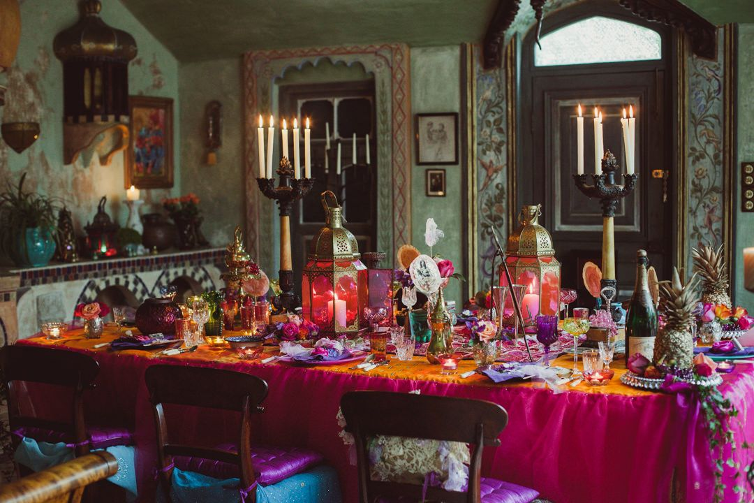 Vintage Meets Vibrant Morocco \u0027Casablanca\u0027 a Styled Shoot. Over The TopCasablancaBoho WeddingTable DecorationsMoroccoSignature ... : moroccan themed table setting - pezcame.com
