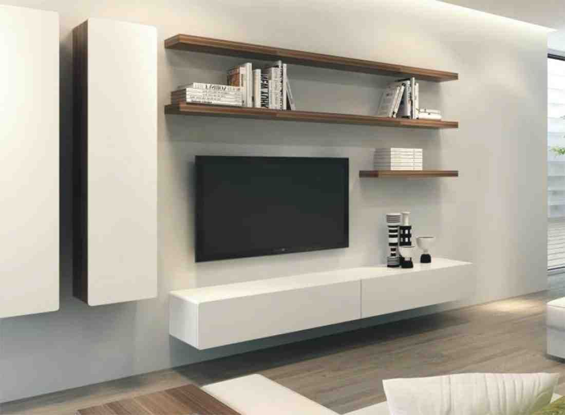 Nice Floating Entertainment Cabinet