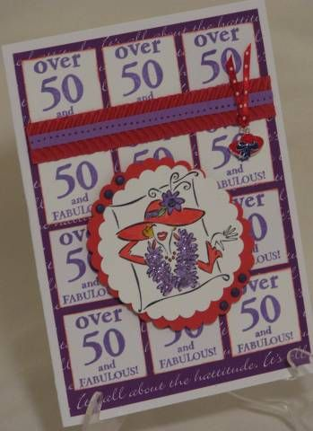 Fabulous 50 by Mothermark - Cards and Paper Crafts at Splitcoaststampers