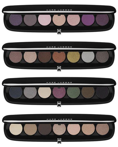 la 1ª colección de #maquillaje de #MarcJacobs #Sombrasdeojos #makeup, #eyeshadow