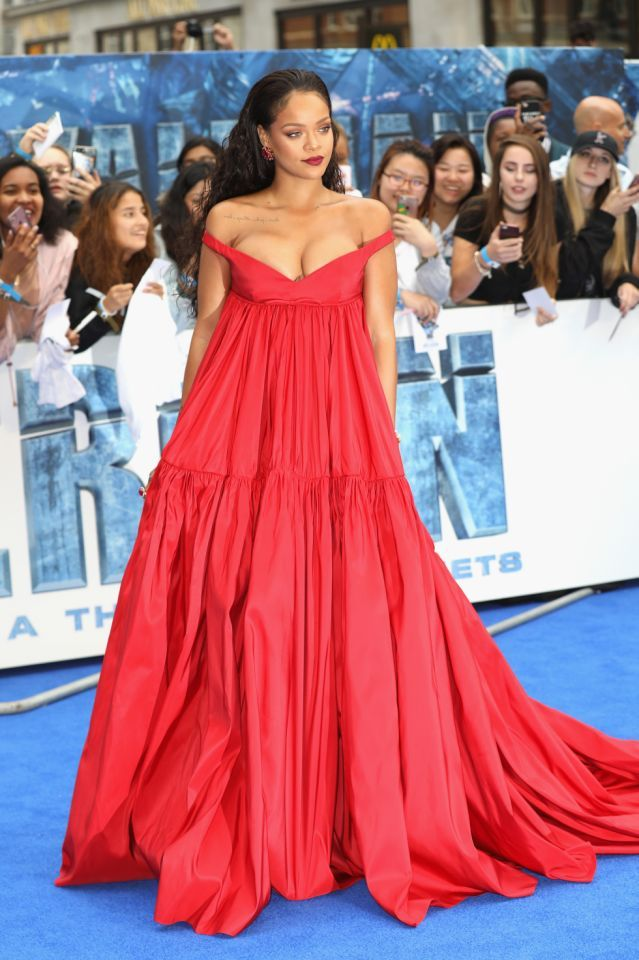 Rihanna's best fashion photos: The red carpet risk-taker's ...