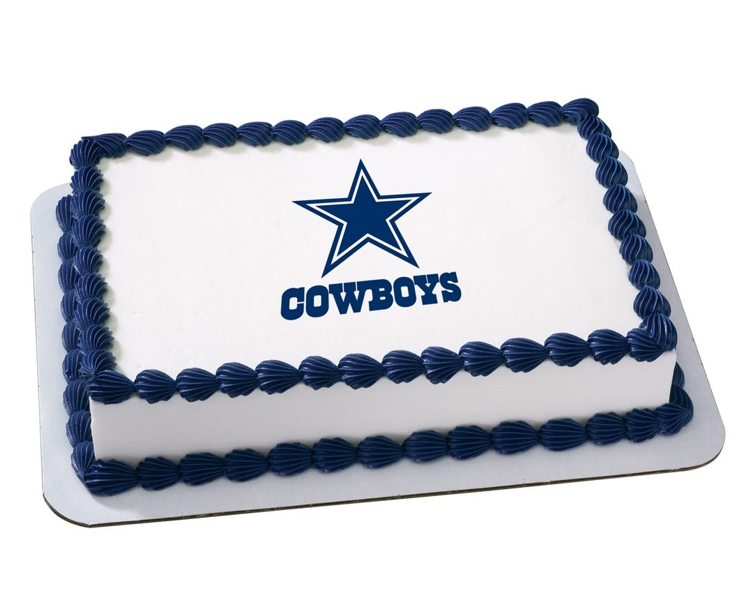 Dallas cowboys birthday cake ideas and designs - Dallas Cowboys Birthday Cupcake Rings Favors Party Supplies Treasured Birthdays Where Birthdays Are Treasured