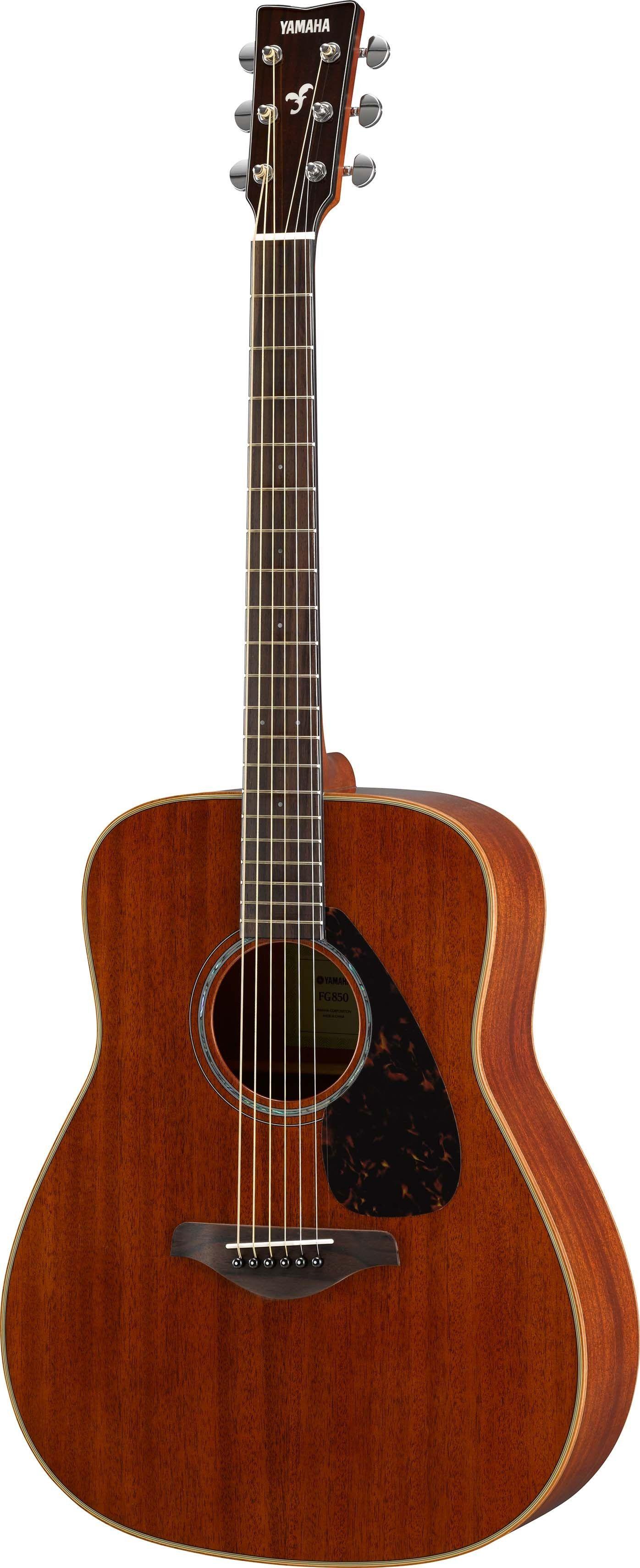 Yamaha Fg850 Natural Folk Acoustic Guitar Mahogany Yamaha Guitar Best Acoustic Guitar Yamaha Guitars Acoustic