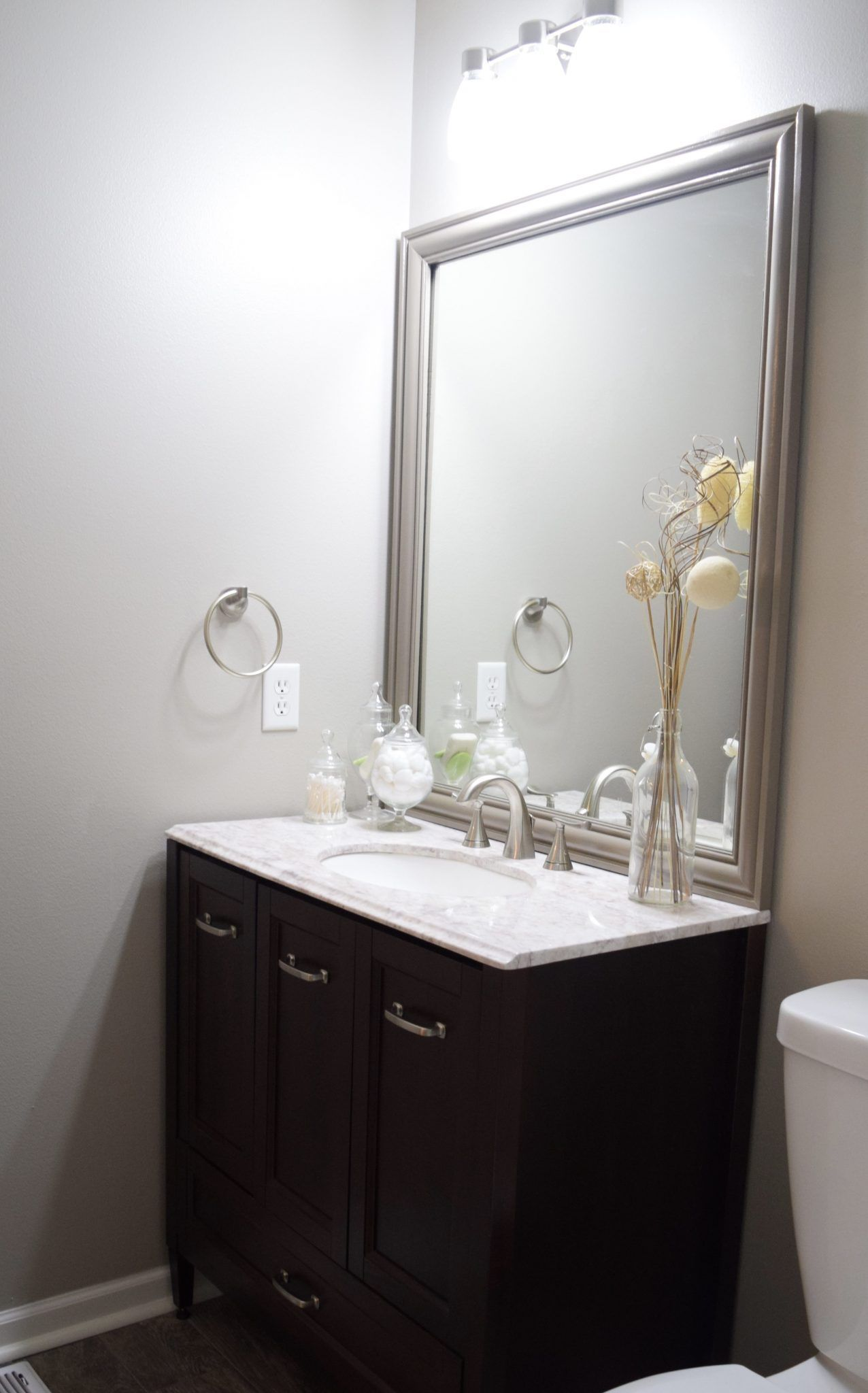 Inexpensive Bathroom Remodel Frame Mirrors