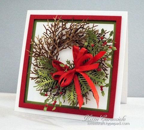 Handmade Twiggy Christmas Wreath