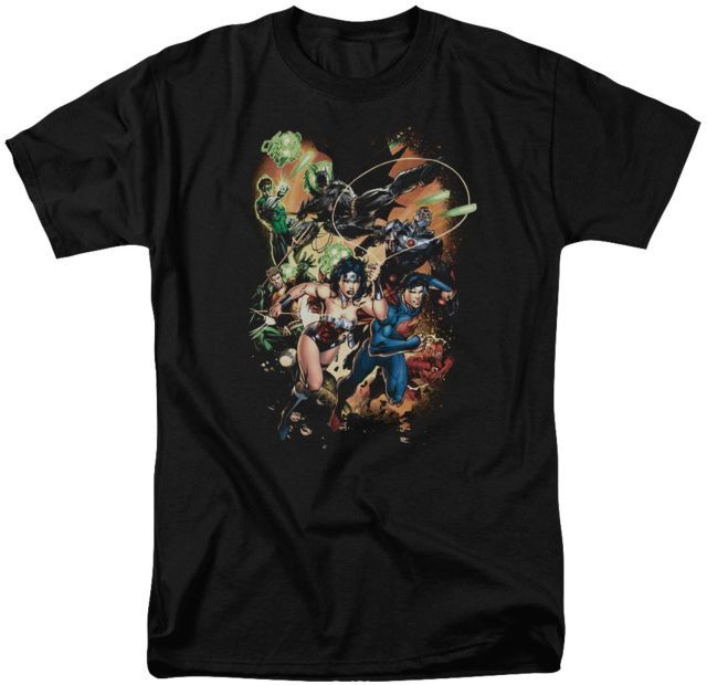 Shirt S Darkseid is Adult Ringer T Sons of Gotham JLA
