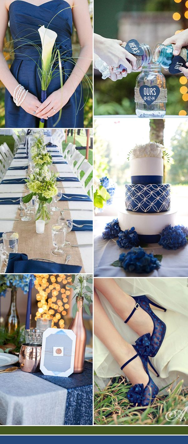 Traditional wedding decor blue and white  The Best Shades of Blue Wedding Color Ideas for   Blue wedding