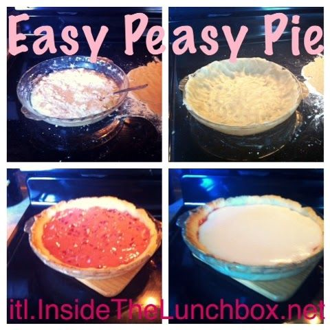 Inside the Lunchbox: Easy Peasy Meringue Pie