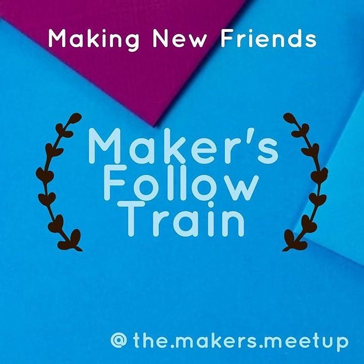 GAINING NEW FOLLOWS IS EASY  with @the.makers.meetup . Follow these simple steps to GROW your IG TODAY! . 1. Follow ME and Like this Post. 2. Go to @the.makers.meetup to Join the Train . 3. GAIN New follows and follow backs from everyone participating over the next 24 hours. . Simple as that! . #themakersmeetup #followloop #makersloop #etsymakersloop #etsystore #etsymakers #handmadeisbetter #handbuilt #handcrafts #handwoventextiles #makersofinstagram #makersmovement #makersgonnamake #knitters #k
