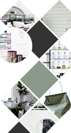moodboard cut-outs | Graphic Design | Pinterest | Inspiration boards ...