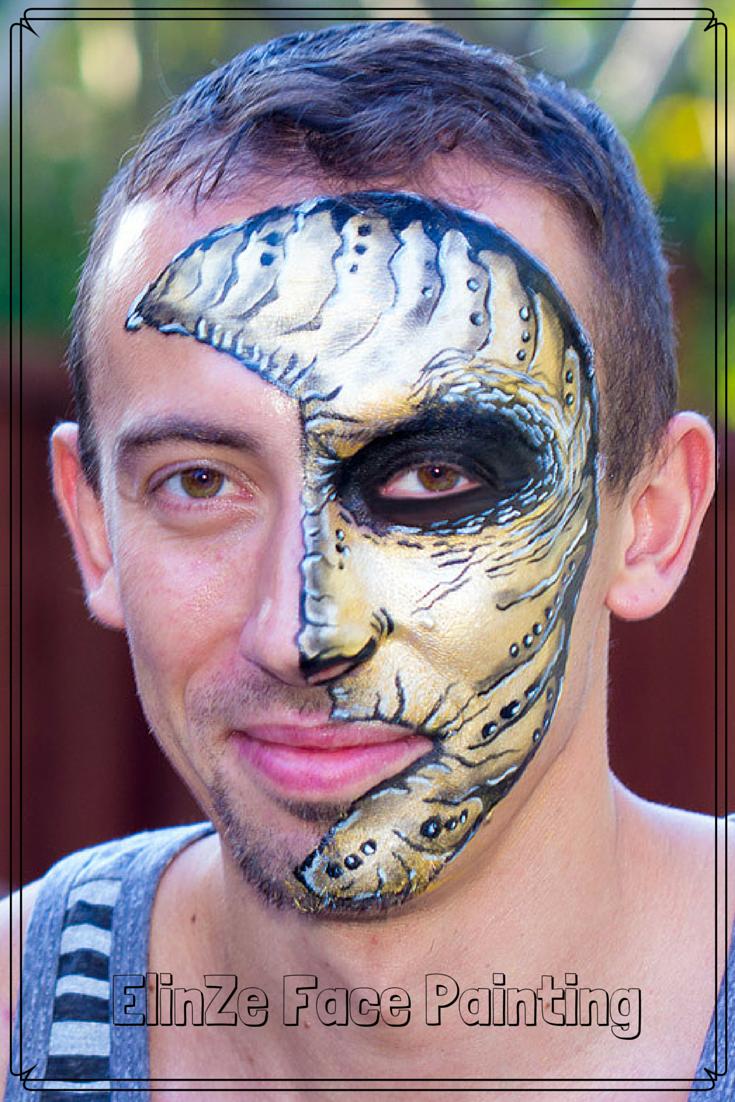 ElinZe Face Painting Moon ElinZe Face Painting