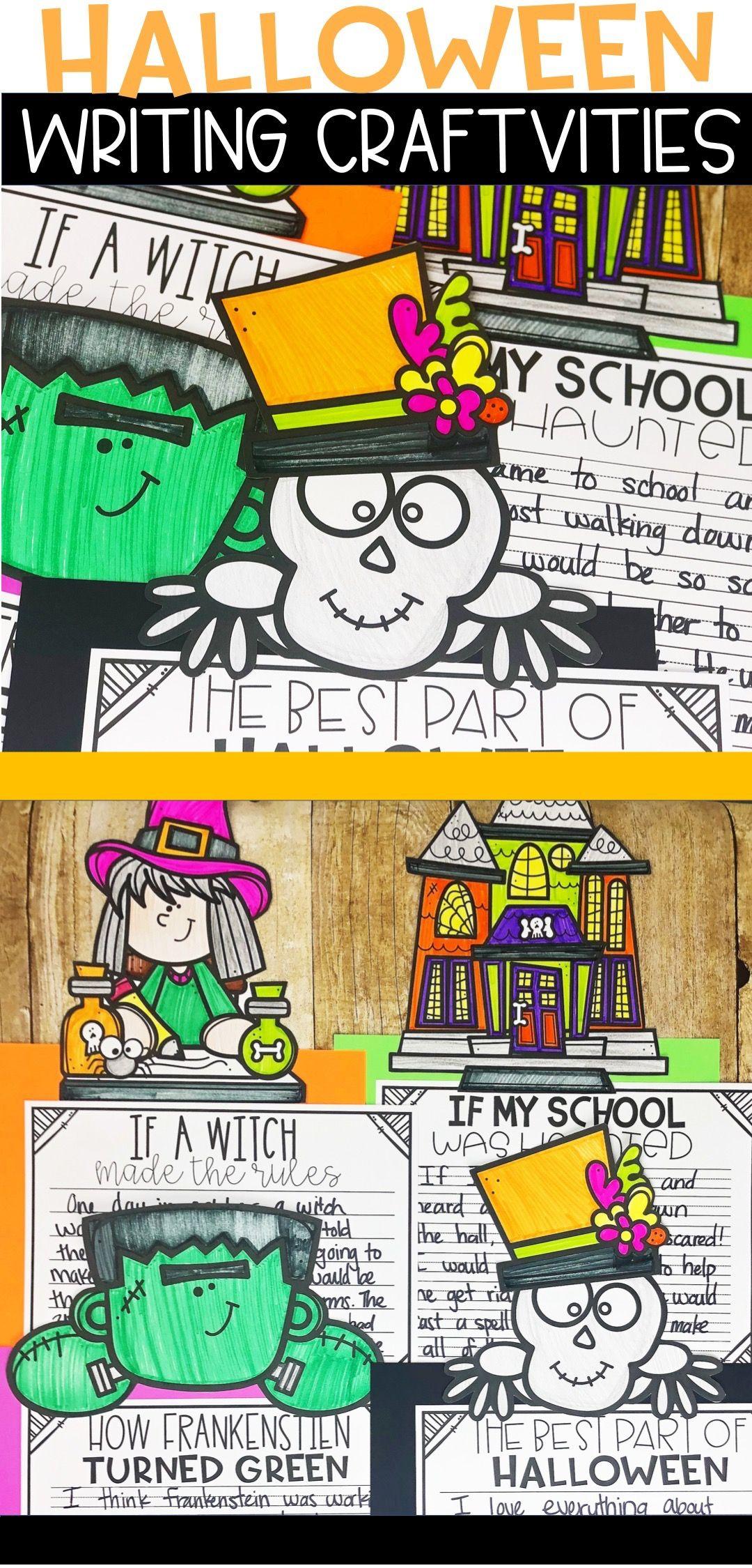 Halloween Writing Craftivities Pack