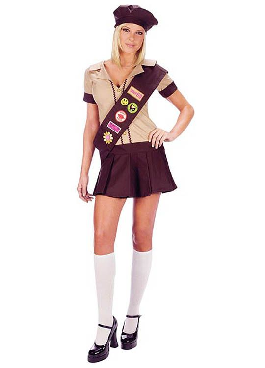 Consider, that Sexy girl scout halloween costume apologise