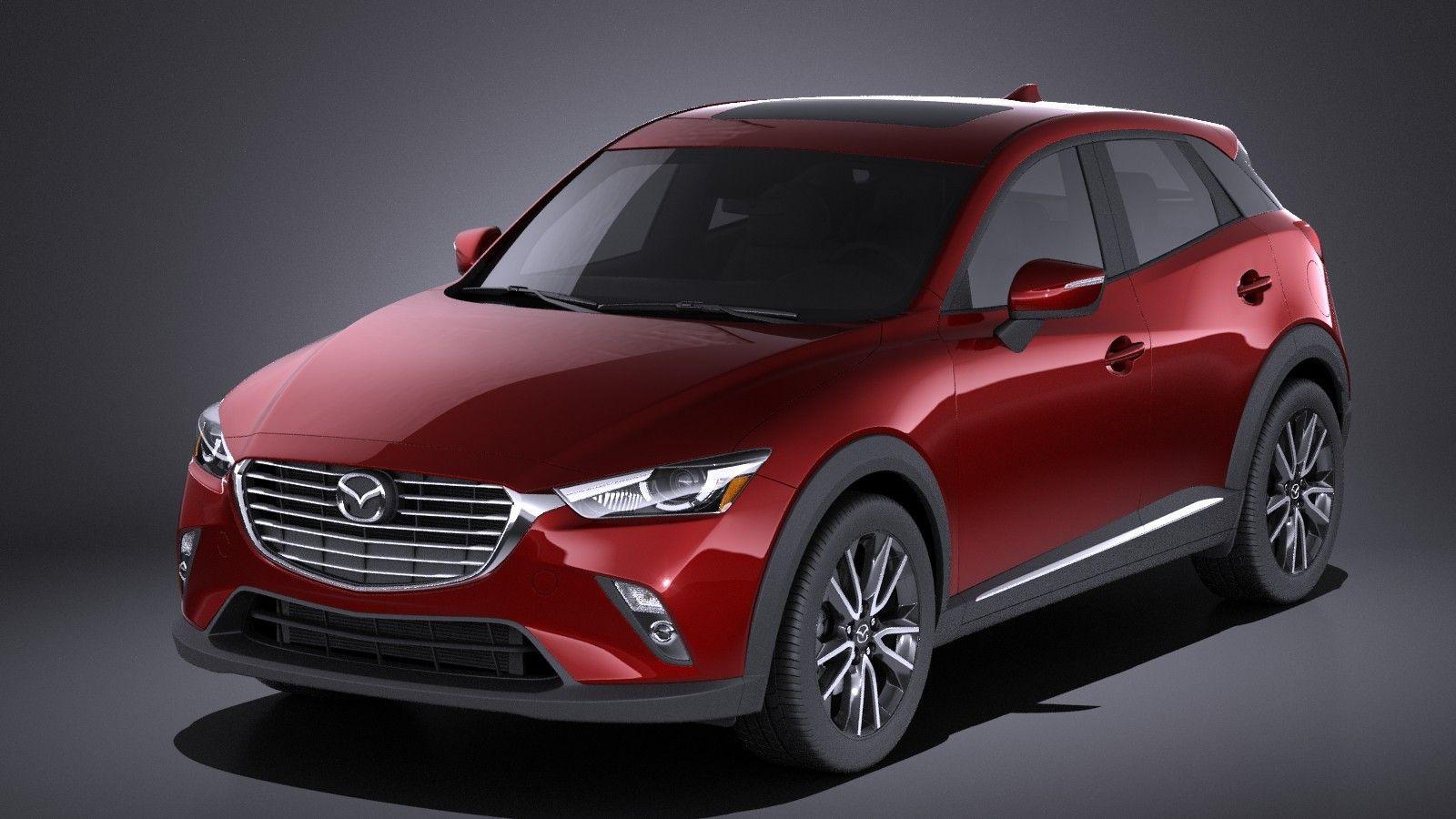 Mazda 2017 Cx 3 3d Max 3d Model Mazda Mazda Cx3 Mazda Cx3 2017